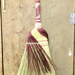Detail of fancy kitchen broom